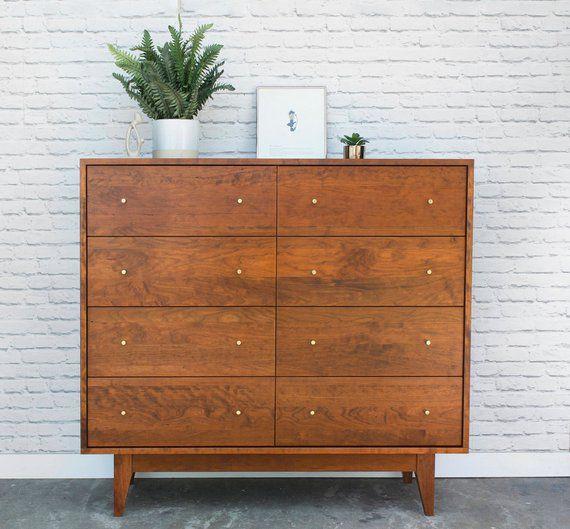 Best Dumont Dresser Solid Cherry Antique Cherry Finish 400 x 300