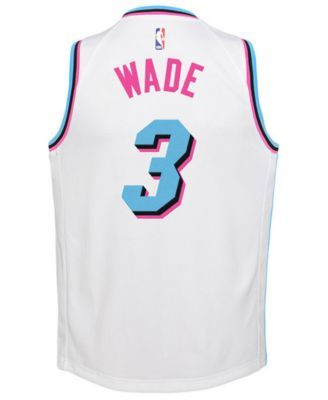premium selection a92e3 3eea0 Nike Dwyane Wade Miami Heat City Edition Swingman Jersey ...