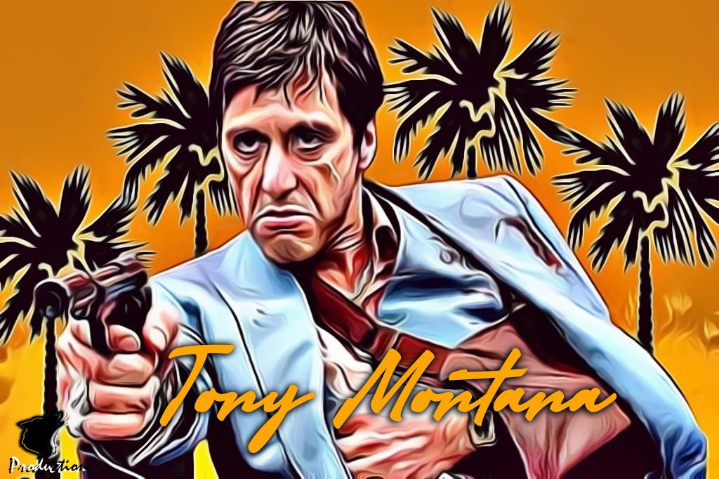 Tonymontana Montana Alpacino Wallpaper Background Scarface Movie Montana Art Tony Montana Scarface Movie