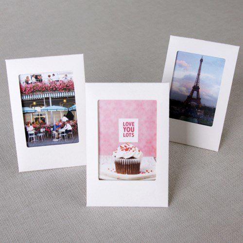 white instax mini frame set - Mini Picture Frame
