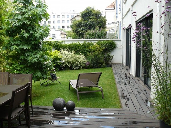am nagement jardin 100m2 hledat googlem patio zahrada terasa outdoor space pinterest. Black Bedroom Furniture Sets. Home Design Ideas