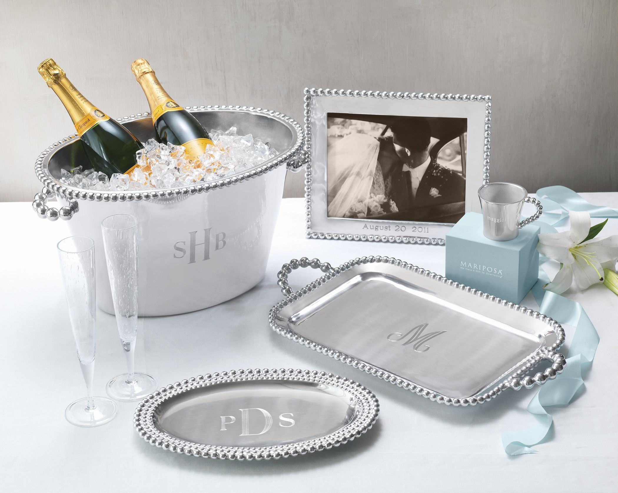 Online Wedding Gift: Perfect Weddings Gifts From Mariposa: Monogrammed Serving