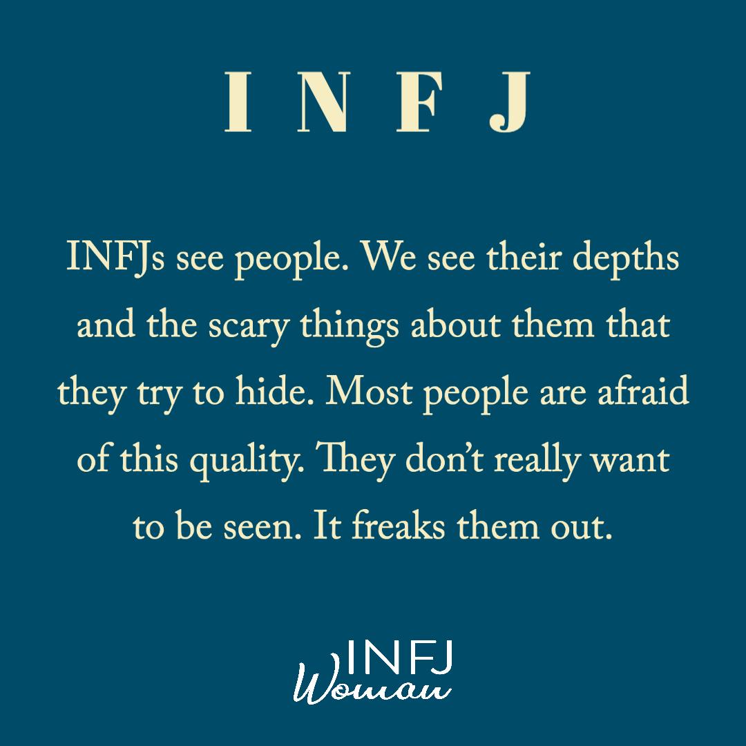 INFJs see people