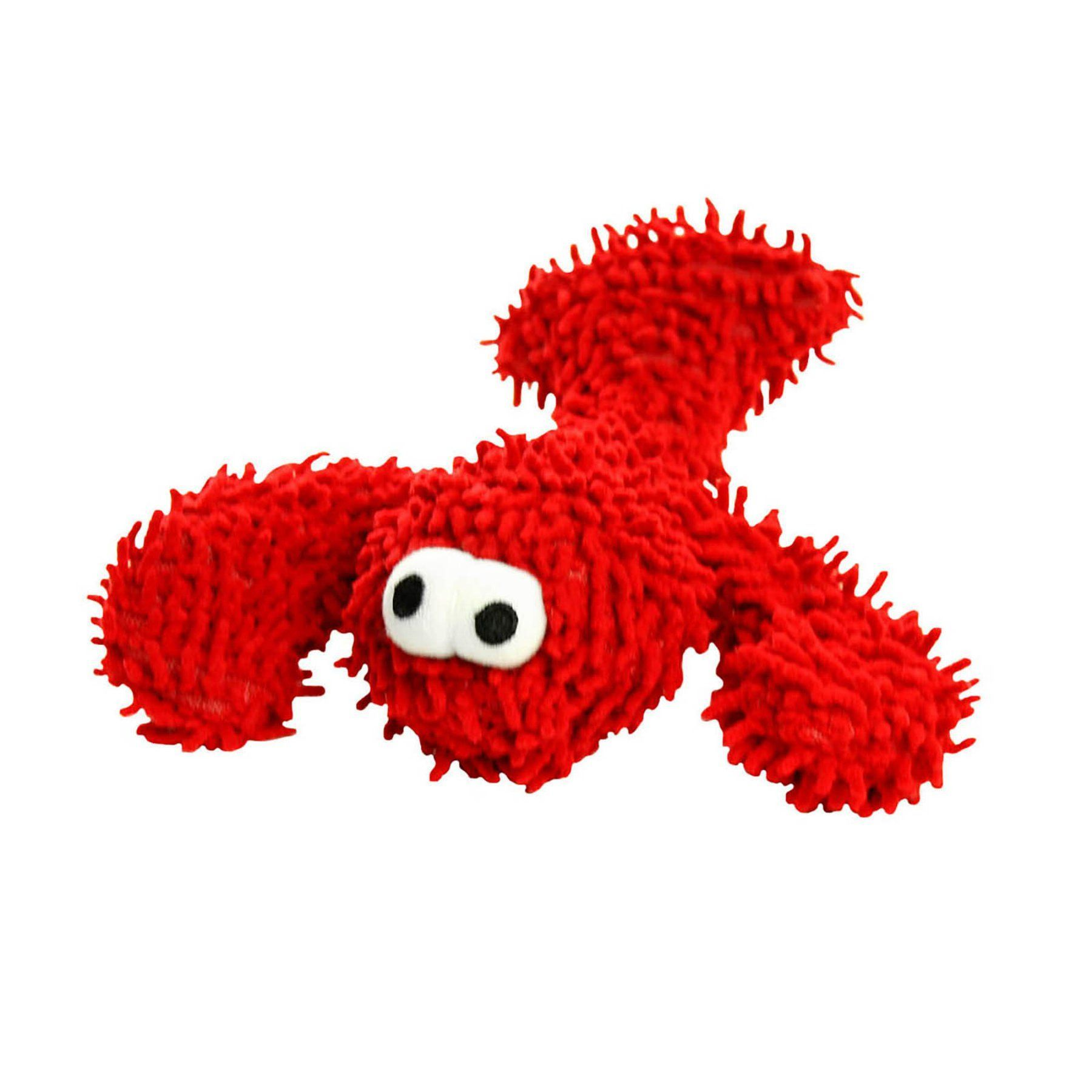 Mighty Micro Ball Lobster Durable Dog Toy Mt Microb Lobster