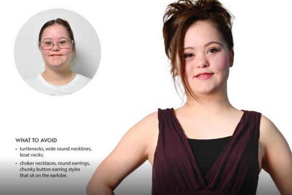 Foto de joven con síndrome de Down