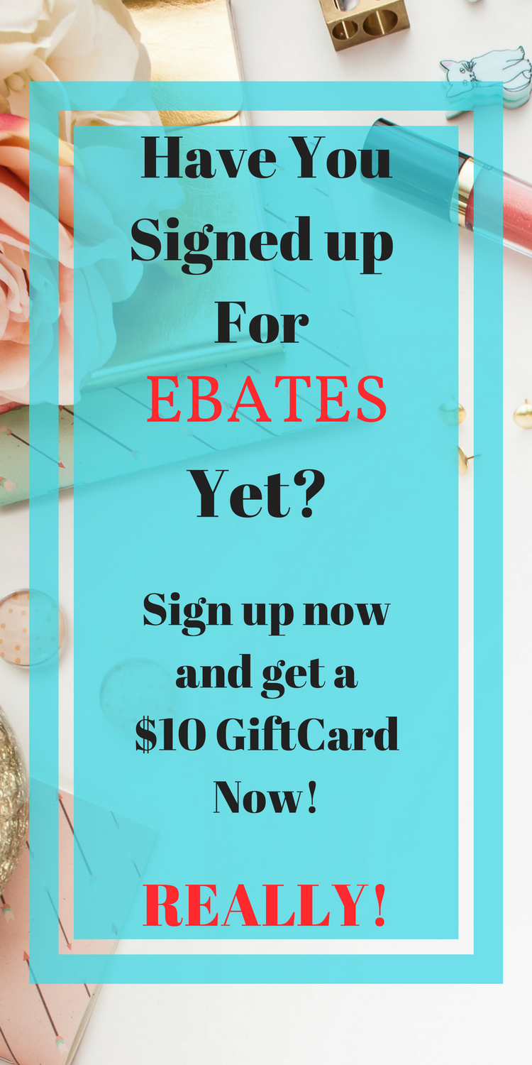 Ebates is a great way to save money on the stuff you