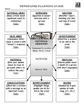 This worksheet is used with the Aztec Powerpoint also posted. I ...