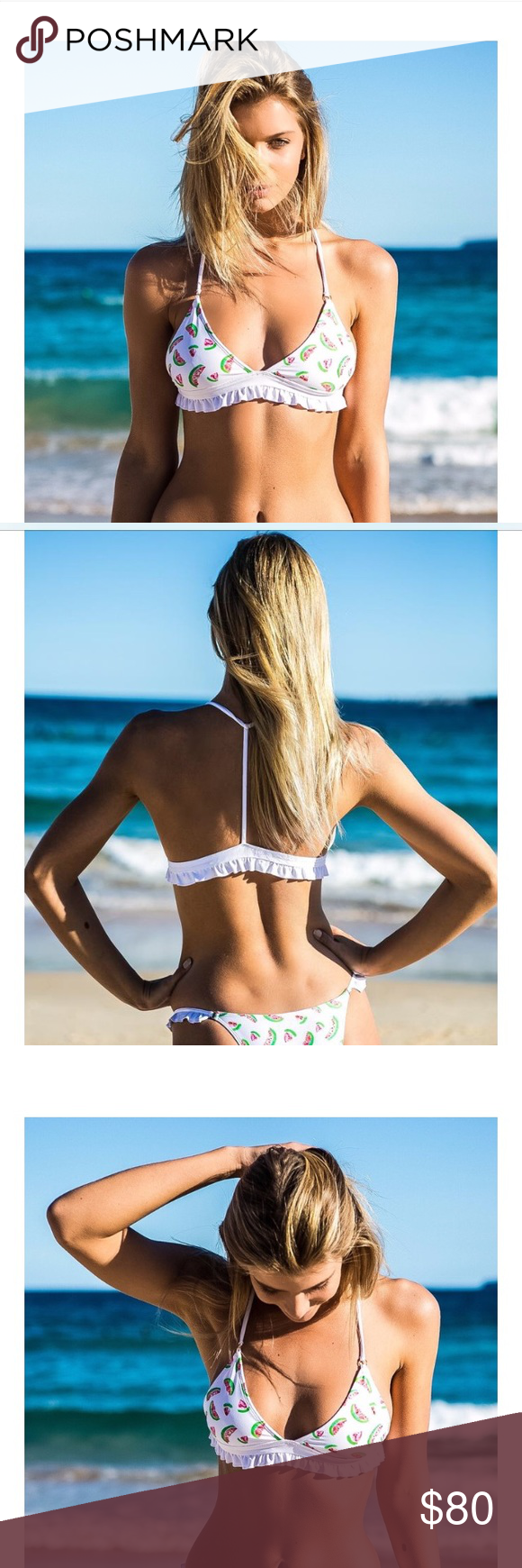Watermelon print bikini top Amore and Sorvete Super cute ...