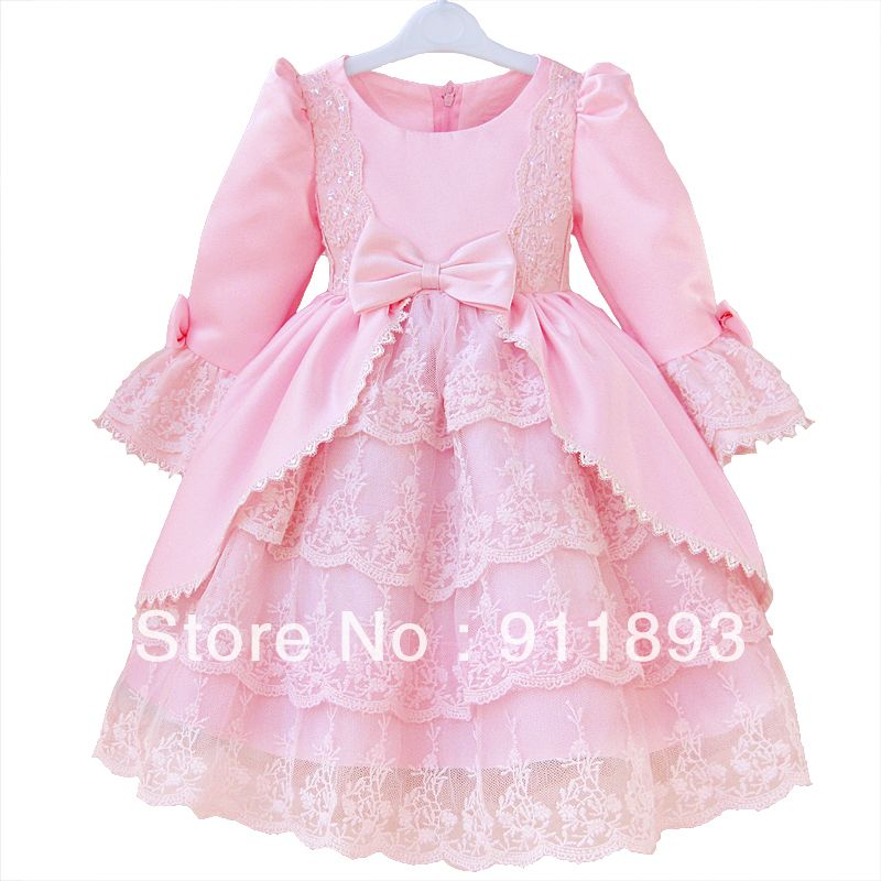 Azul Y Rosa Children Wear | Flor de ropa para niños de la princesa ...
