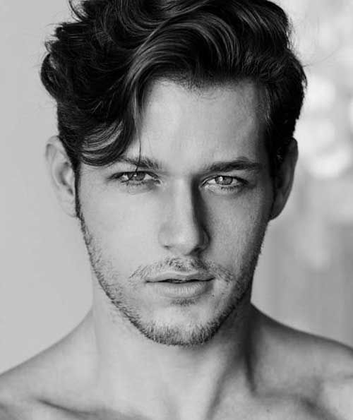 Wavy Long Top Hair Men Hairstyles In 2019 Haircuts For Wavy Hair