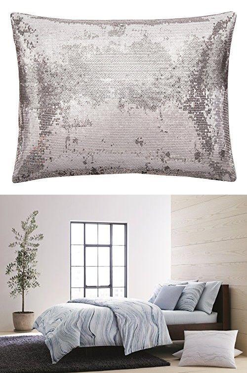Terrific Calvin Klein Home Quartz Sequin Ombre 12X16 Dec Pillow Andrewgaddart Wooden Chair Designs For Living Room Andrewgaddartcom