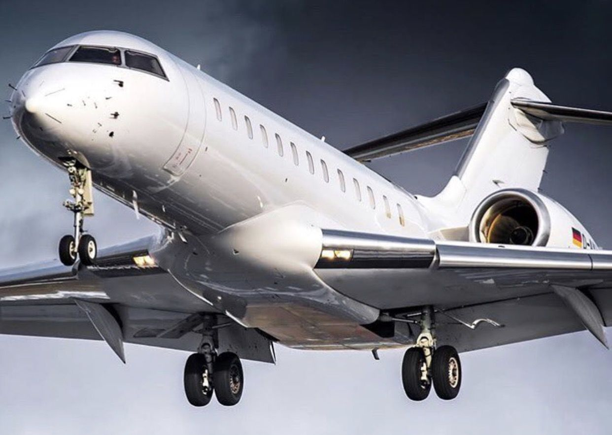 Bombardier Global Express.
