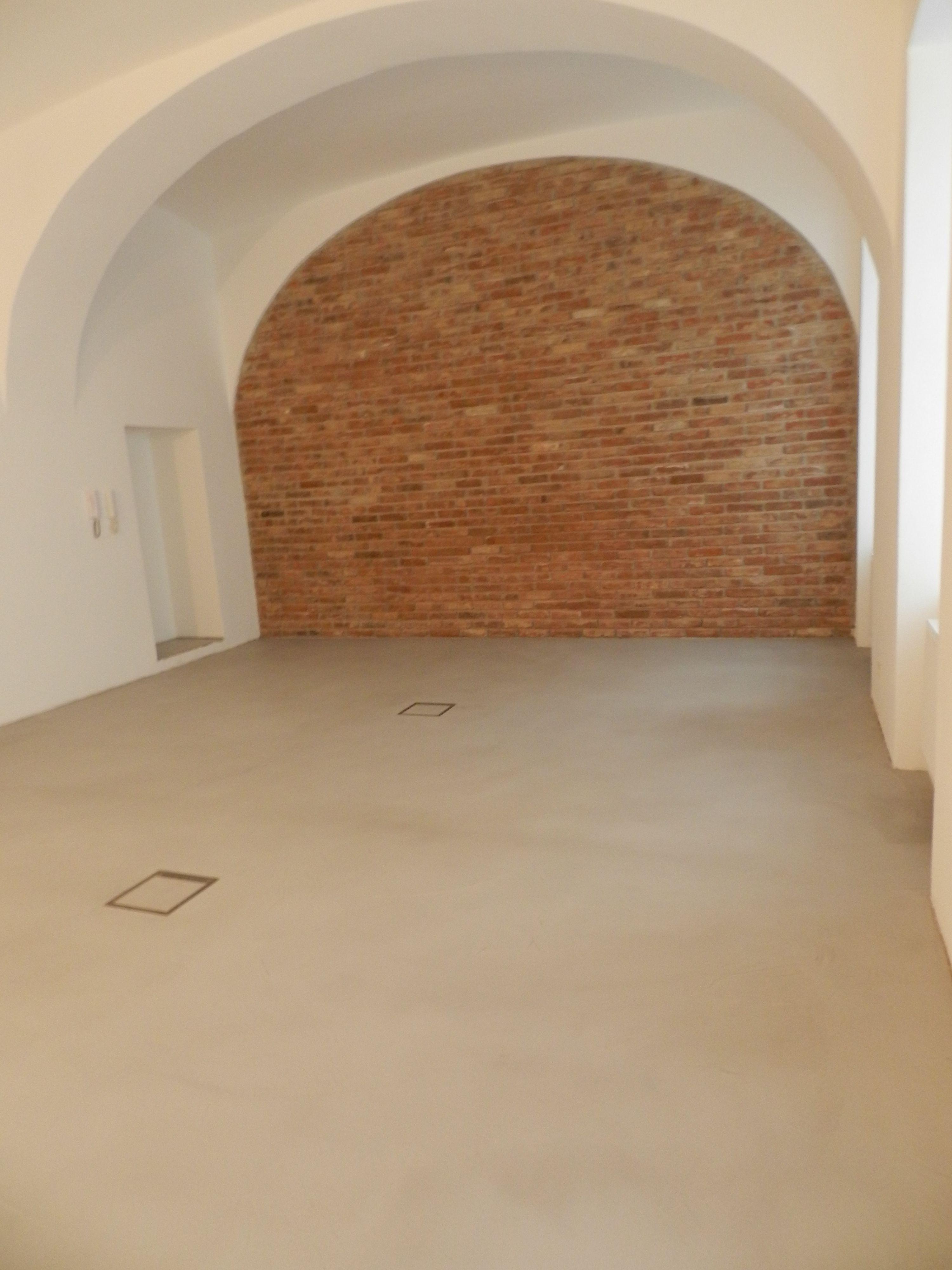 Boden Beton Brut In Der Farbe No 5 Tortara Versiegelt Mit Einem
