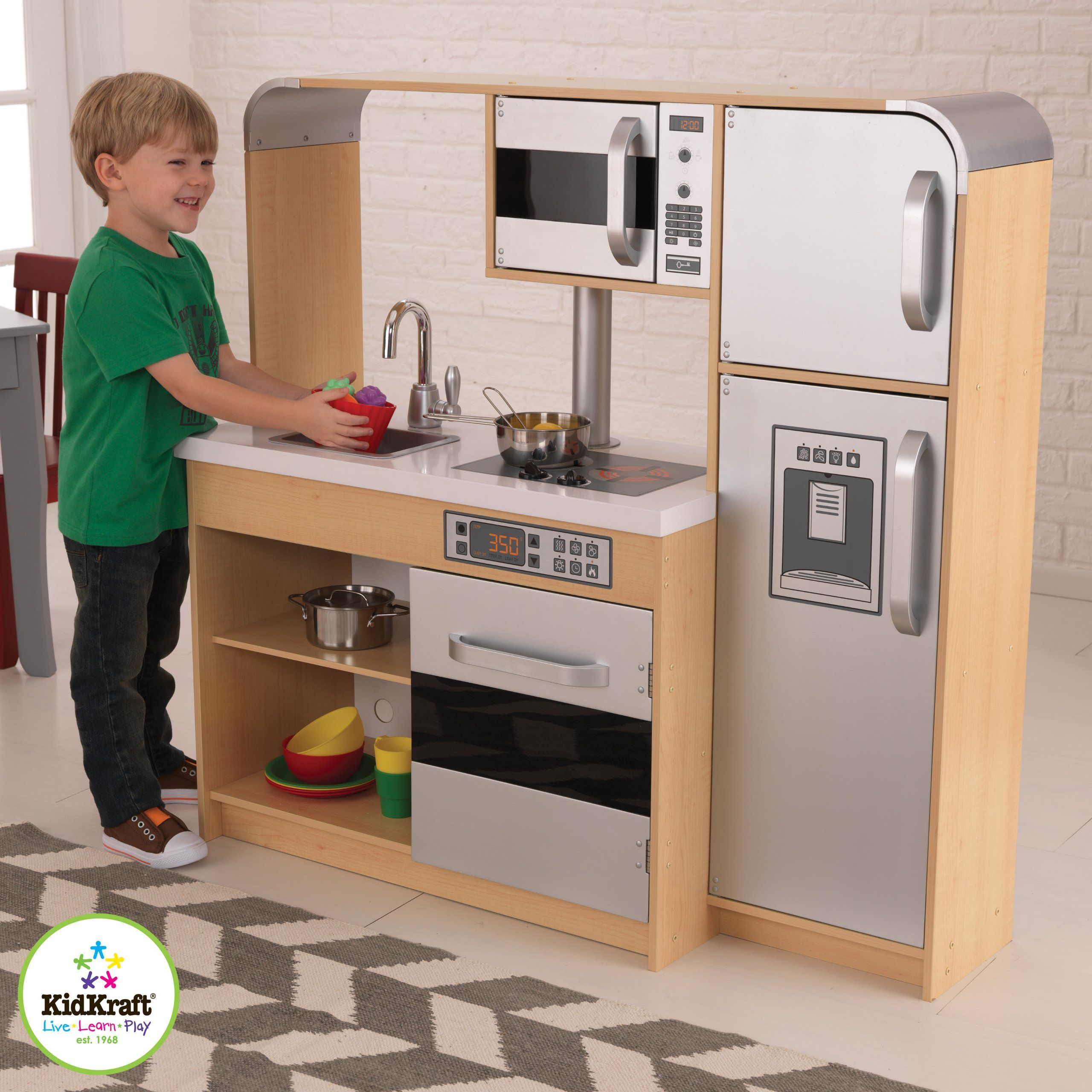 Amazon.com: KidKraft Ultimate Chef\'s Kitchen: Toys & Games | For the ...
