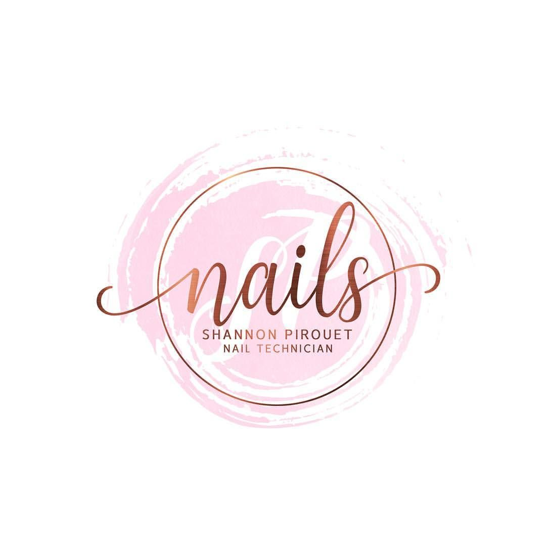 Logo design for Shannon. #nails #nailsofinstagram #nailart