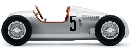 audi auto union type c pedal car green design blog