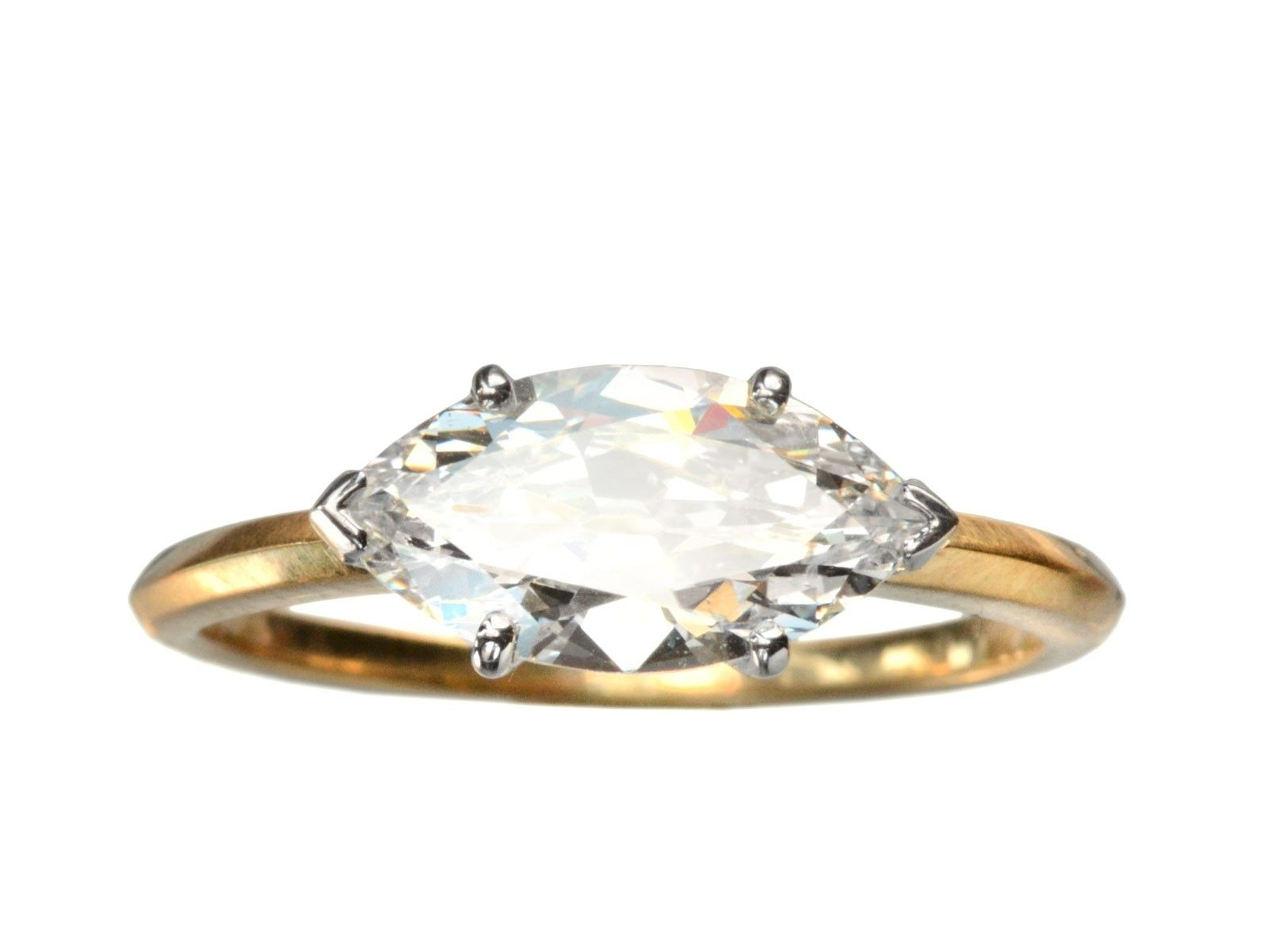 marquise stones with side diamond ring myshoplah jewellery settings