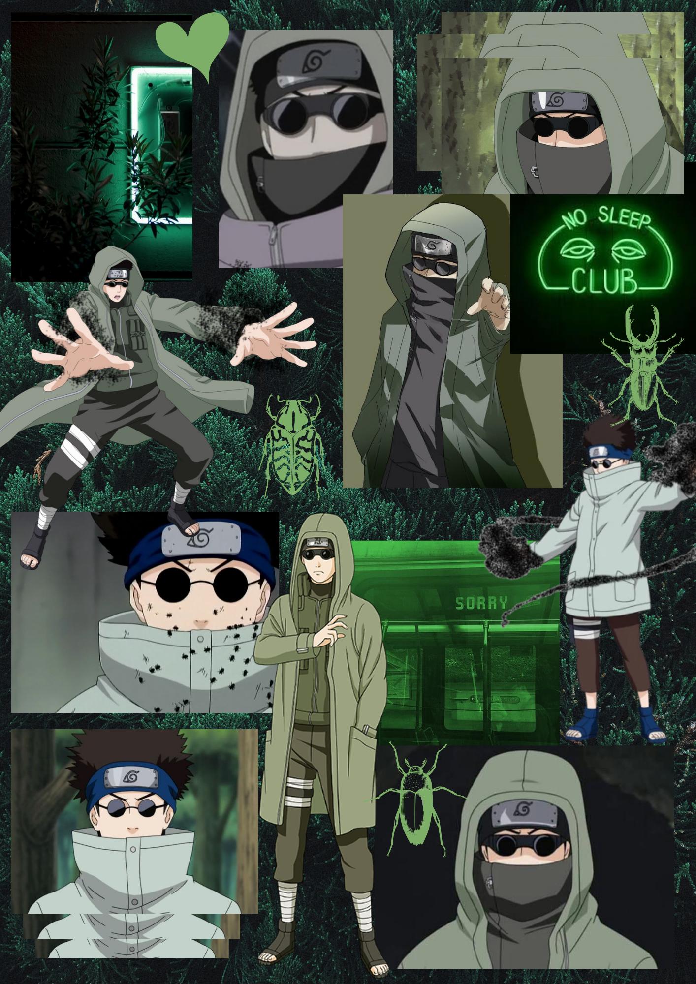 Shino Aburame em 2020 | Shino aburame, Animes wallpapers, Kawaii desenhos fofos
