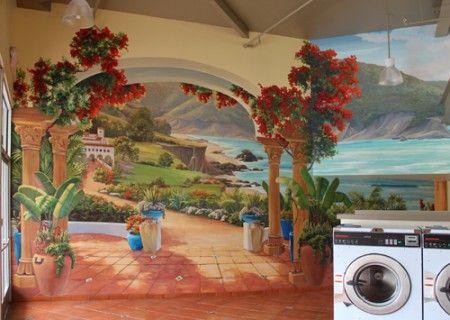 Wall Murals - Custom Hand Painted Wall Murals - Palo Alto, Los Altos, Mountain View, San Jose, San Francisco Bay Area