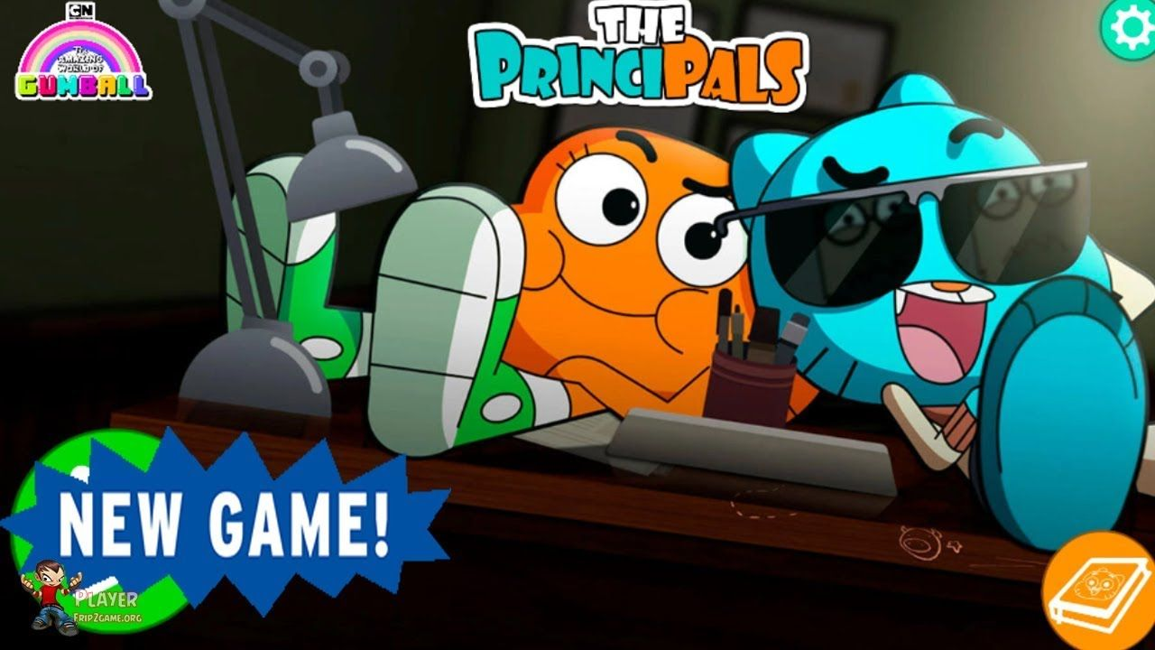 The Principals Gumball Games Cartoon Network New Games The Amazing World Of Gumball Cartoon Network World Of Gumball