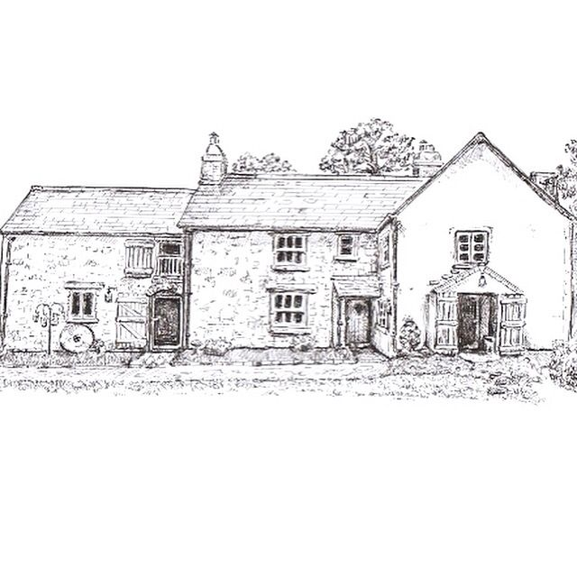 Art Sketch Drawing Black And White Pen Ink English