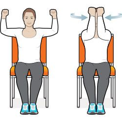 This Full Body Sit Down Workout Is Good For Your Heart