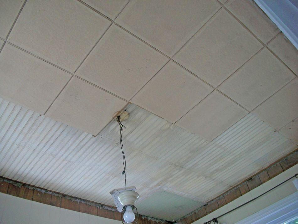 Painting Asbestos Ceiling Tiles Asbestos Pinterest