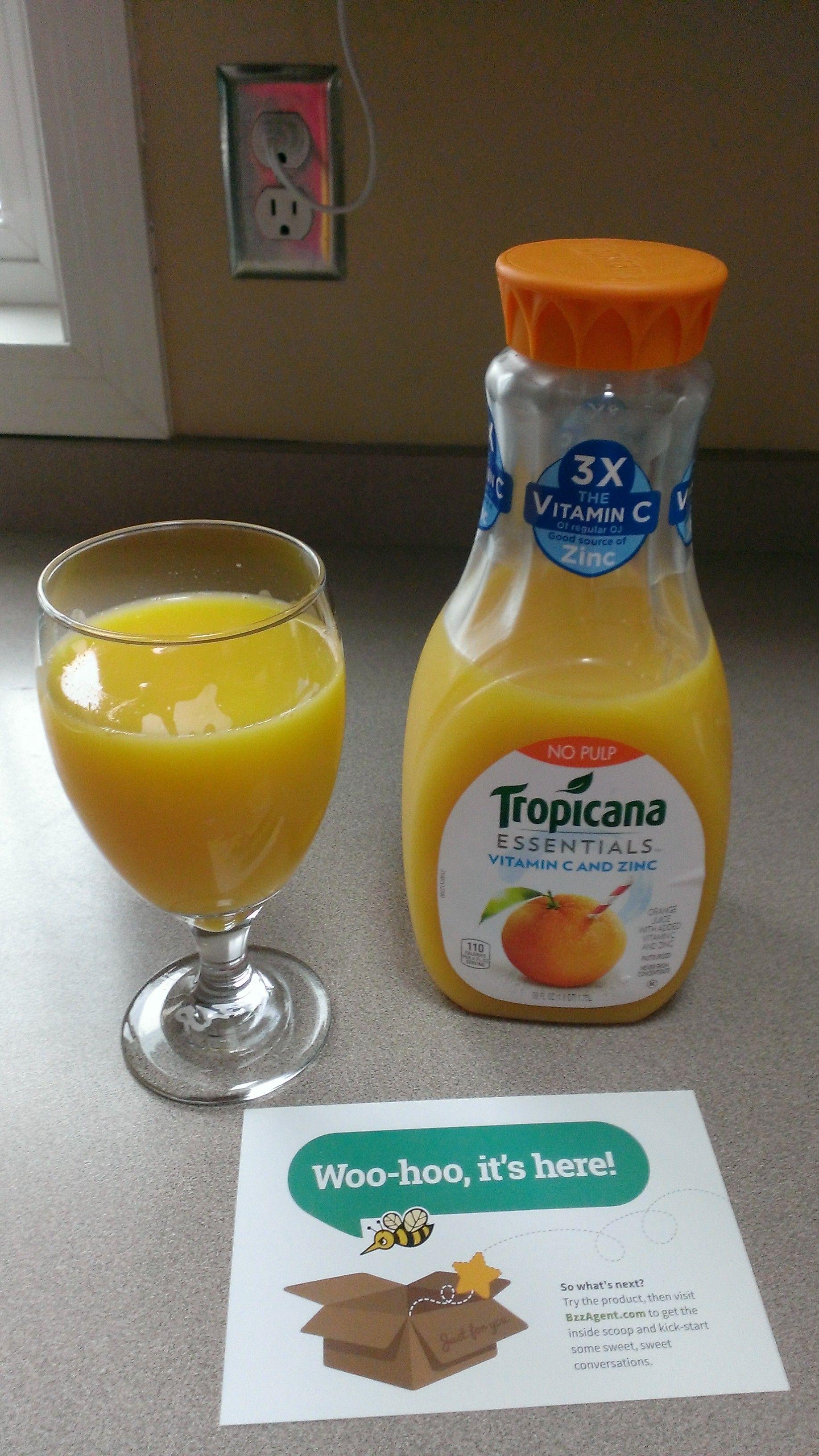 Tropicana Vitamin C & Zinc. GotItFree VitaminCTimesThree