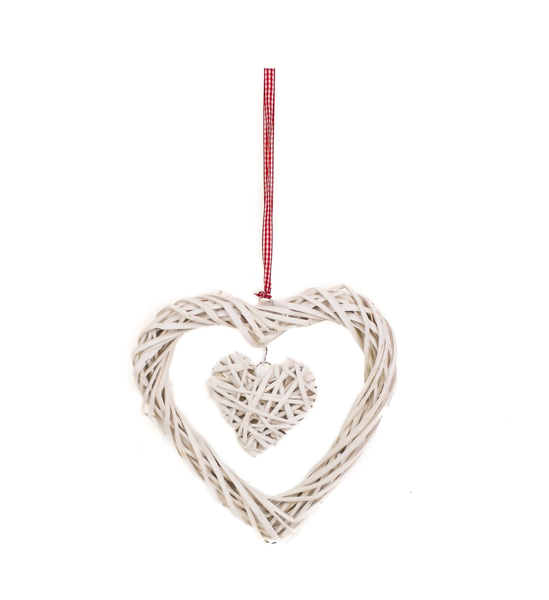 Hanging white large small wicker heart wedding decoration in 3 hanging white large small wicker heart wedding decoration in 3 deals junglespirit Gallery