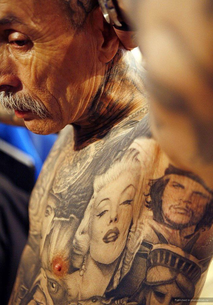 Pin By Ibis On Tattoo Old Men With Tattoos Old Tattooed People Badass Tattoos