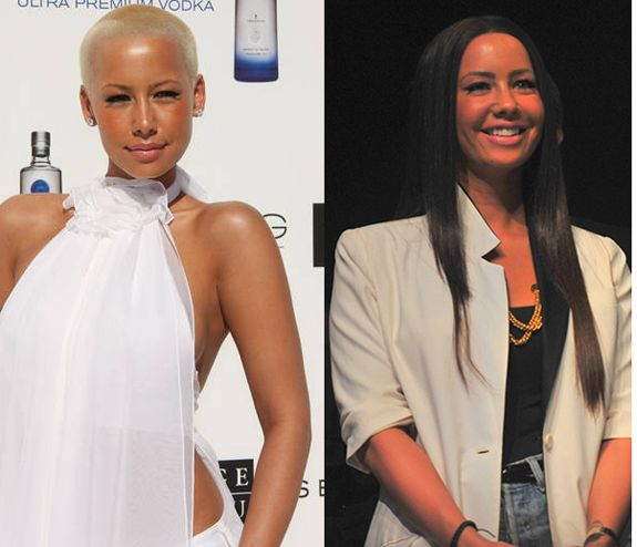 Too Gorg With No Hair Amber Rose Long Hair Amber Rose Hair Amber Rose