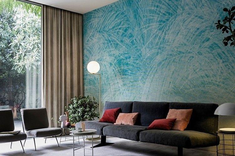 Living Room Trends 2016 Wall Deco Wallpaper Ideas