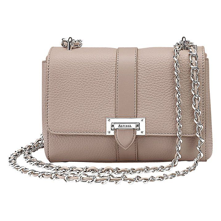 7d68da60f3e6 Pin for Later  Make This Year Your Mum s Chicest Yet Aspinal of London  Lottie Chain Across Body Leather Bag Aspinal of London Lottie Chain Across  Body ...