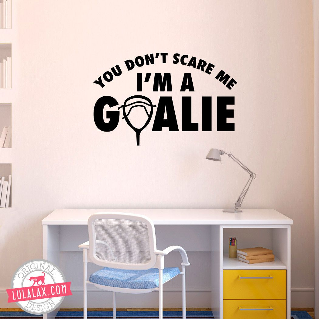 decorate your room with our lacrosse goalie wall decals decorate your room with our lacrosse goalie wall decals