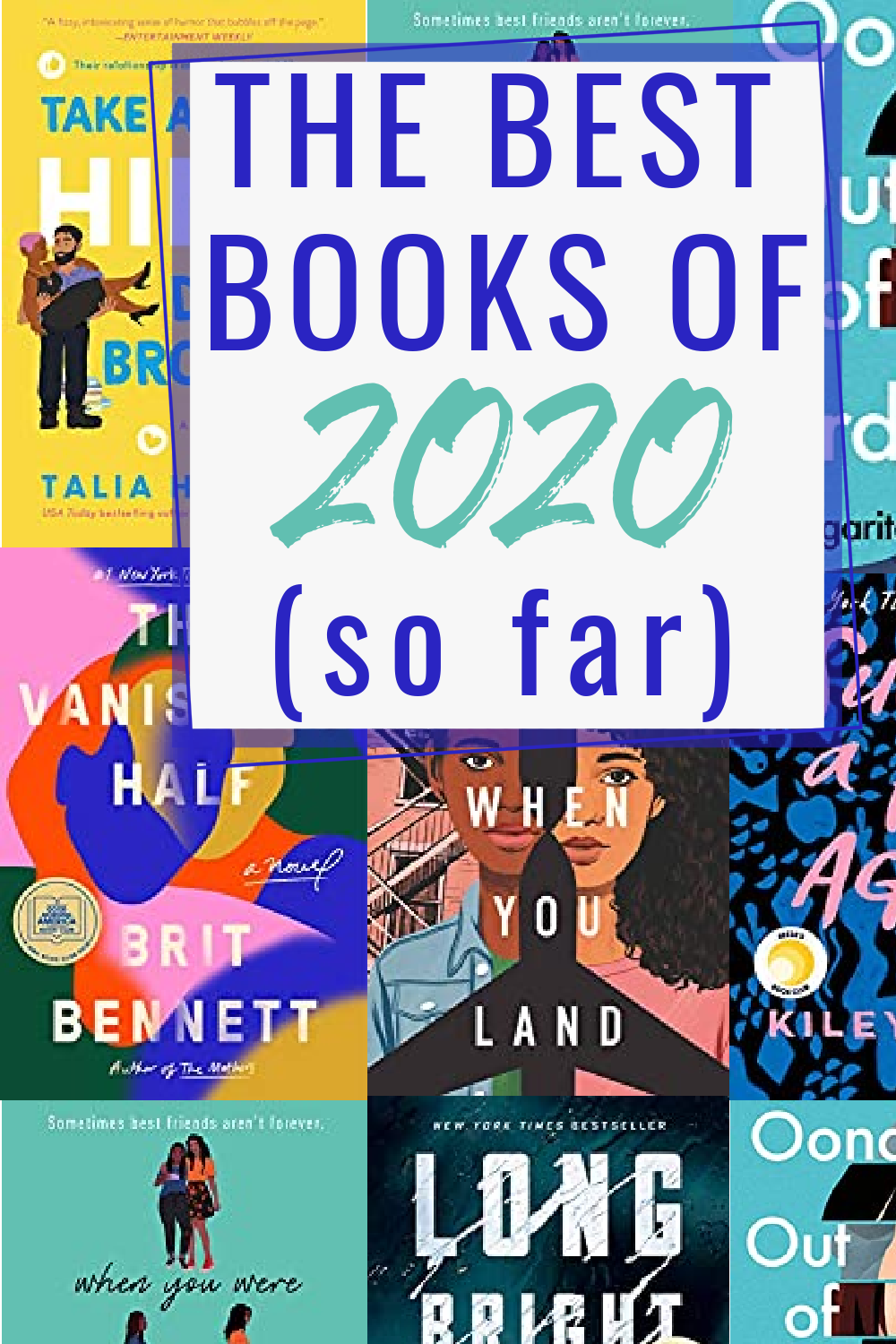 Looking for a good book to read? Check out this book list of the best books of 2020 (so far) according to ME! These have been the standout books and books I wholeheartedly recommend. #bookrecommendation #readinglist