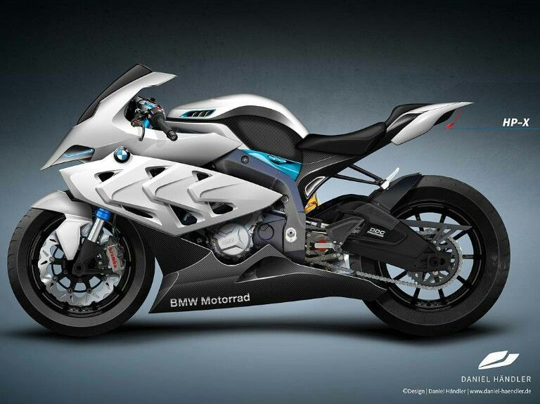 Bmw Hpx With Images Super Bikes Futuristic Motorcycle Bmw