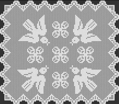 Free Filet Crochet Tablecloth Patterns Brokeasshome