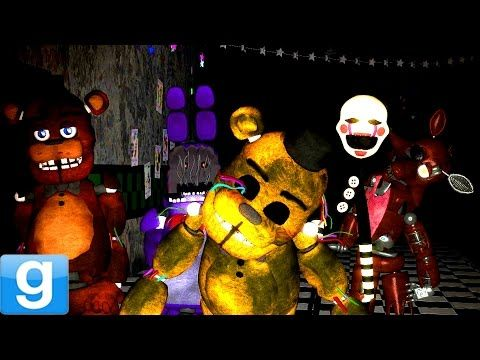 Playable Animatronics Gmod Five Nights At Freddys 2 Pill Pack