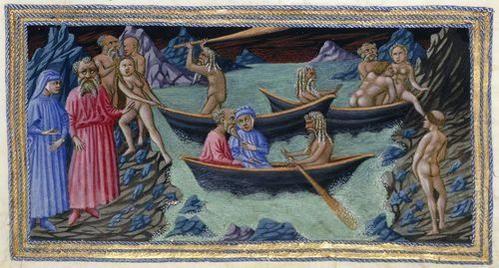 Image result for medieval manuscript acheron