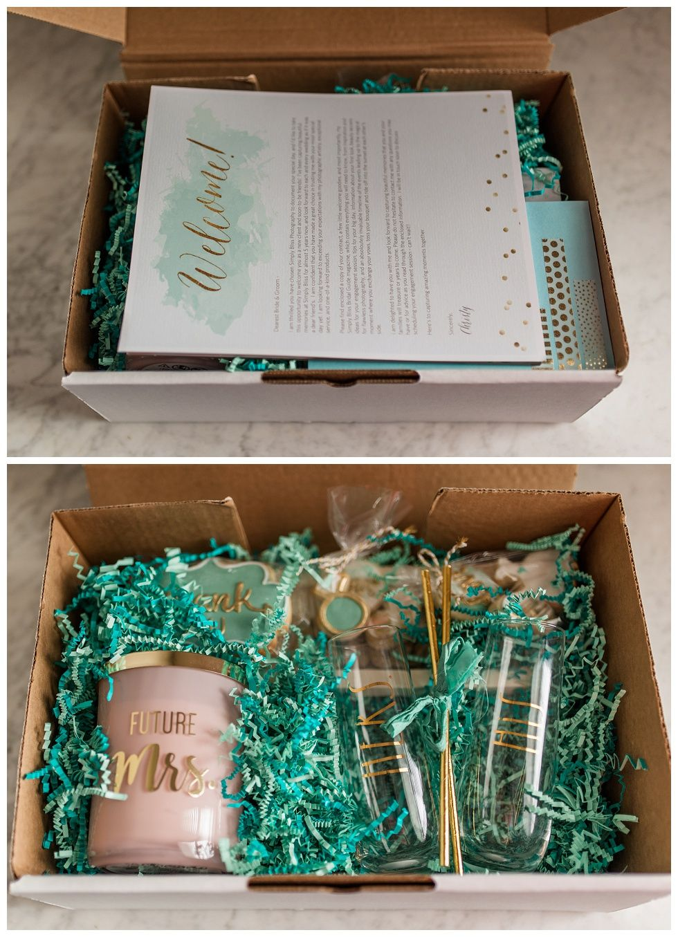 Client Booking Gift Box | NWA Wedding Photographer Simply