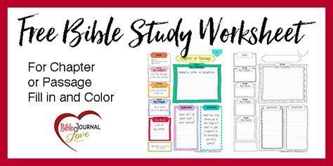 Free Key Bible Worksheet Printable Soap Bible Study Inductive Bible Study