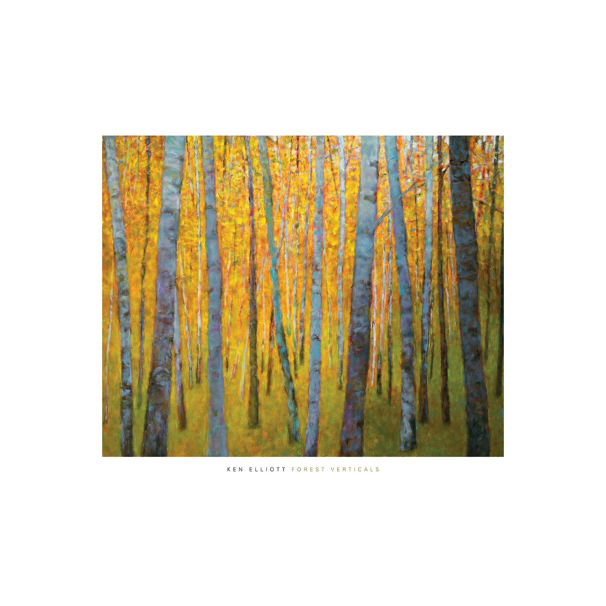 Art.com Forest Verticals Wall Art Print | Printing and Products