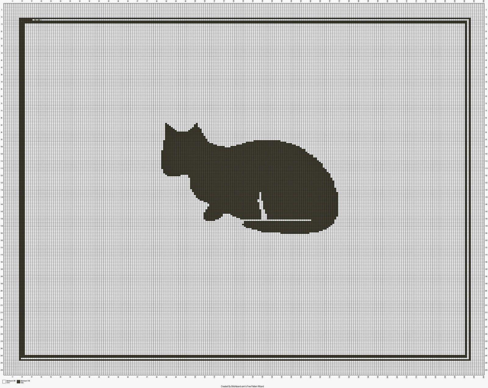 Kitty Afghan.jpg (JPEG-afbeelding, 1600 × 1273 pixels) | Bordados ...