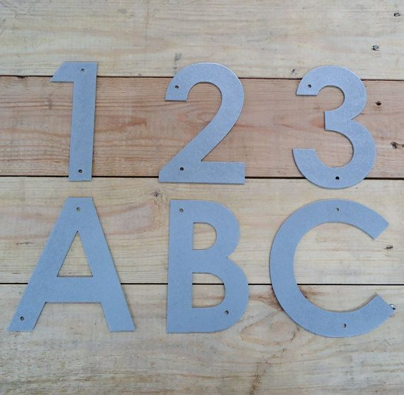 6 Inch Metal Letters Interesting Metal Letters And Numbers 6 Inch Century Gothic Font Metal Art Decorating Design