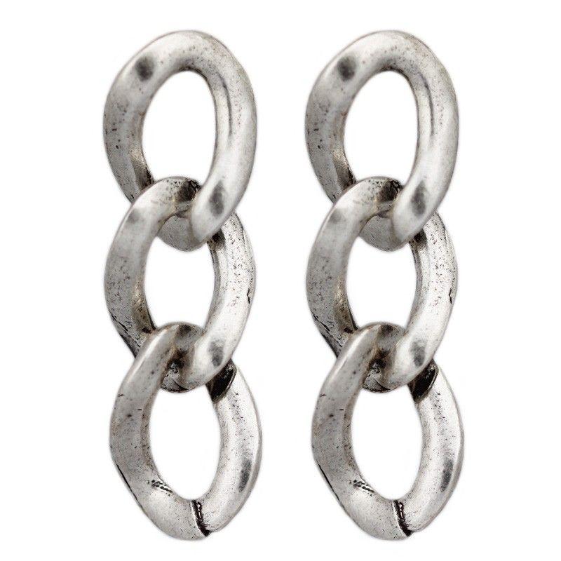 Avant Garde Silver Pamela Earrings — available at Rocks & Silk at Fred Segal Santa Monica