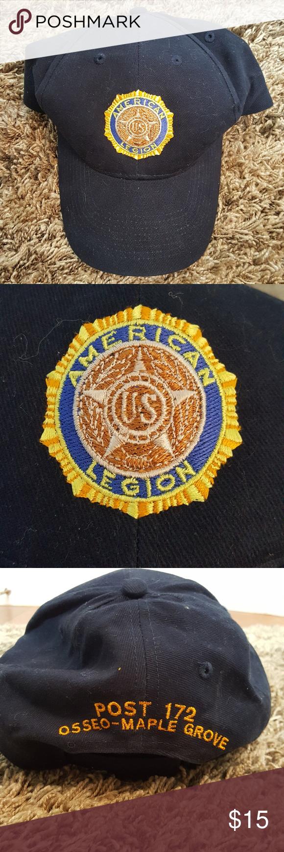 Vintage Legion Baseball Hat Amazing Perfect Clothes Design American Vintage Baseball Hats