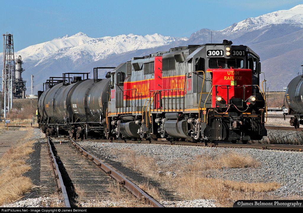 RailPictures.Net Photo: UR 3001 Utah Railway Company EMD GP40 at Salt Lake City, Utah by James Belmont