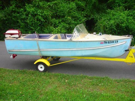 1958 AeroCraft JSA 14ft | Wooden boats | Aluminum boat