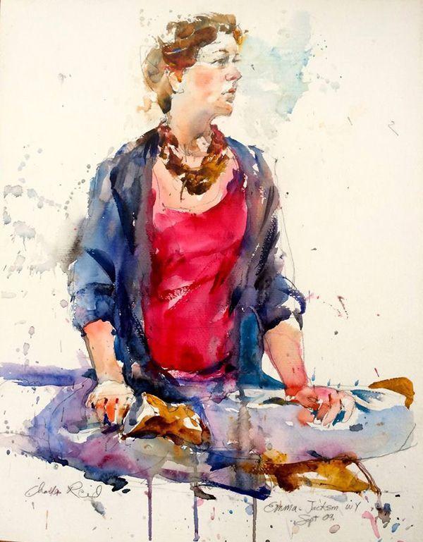 Artist Charles Reid