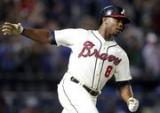 Before the Indians traded for Brandon Moss, they were talking to Atlanta about outfielder Justin Upton.